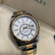Rolex Sky-Dweller Gold/Steel 42mm White No numerals United Kingdom, Stevenage