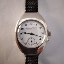 IWC Silver Manual winding White Arabic numerals 48mm pre-owned