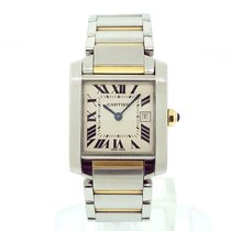 Cartier Tank Française Steel 29mm Silver Roman numerals United States of America, New York, New York