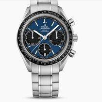 歐米茄 Speedmaster Racing 鋼 40mm 藍色 無數字