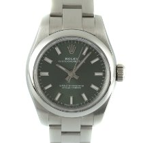 Rolex Oyster Perpetual 26 Staal 26mm Groen