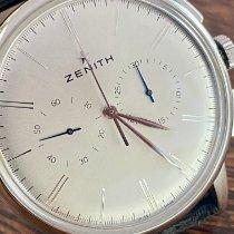 Zenith Elite Chronograph Classic Steel 42mm Silver No numerals
