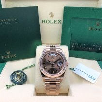Rolex Day-Date 40 Rose gold 40mm Brown Roman numerals United States of America, Illinois, Springfield