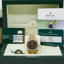 Rolex Day-Date II Yellow gold 41mm Black Roman numerals United States of America, California, Los Angeles