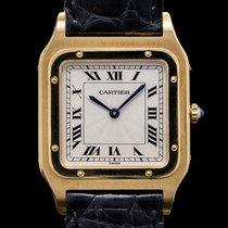 Cartier Желтое золото Механические Римские 26.5mm Santos Dumont