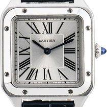 Cartier Santos Dumont Сталь Cеребро Римские