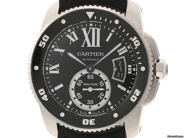 Cartier Calibre de Cartier Diver W7100056 pre-owned