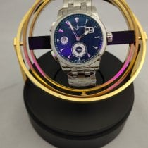 Ulysse Nardin Dual Time new Automatic Watch with original box and original papers 3343-126LE-7/93