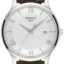 Tissot Tradition Сталь 42mm Cеребро