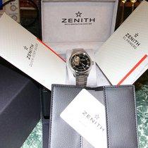 Zenith El Primero Synopsis Steel 40mm Black Roman numerals United States of America, Colorado, Parker