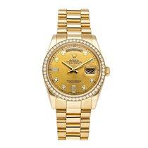 Rolex Желтое золото 36mm Автоподзавод 118348-0018 подержанные