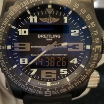 Breitling Emergency pre-owned Black Rubber