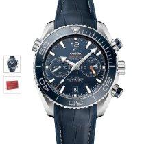 歐米茄 Seamaster Planet Ocean Chronograph 鋼 45.5mm 藍色