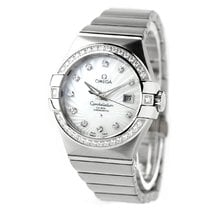 Omega 123.55.31.20.55.003 White gold Constellation Ladies 35mm new