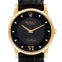 Rolex 5116 Желтое золото 2005 Cellini 31.8mm подержанные