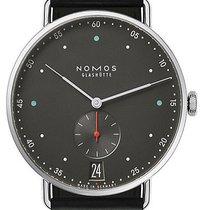 NOMOS Metro 38 Datum new 2021 Manual winding Watch with original box and original papers 1103