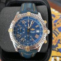 Breitling Crosswind Racing Acero y oro 43mm Azul Romanos España, Baleares