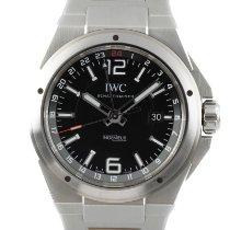 IWC Ingenieur Dual Time Сталь 43mm Черный