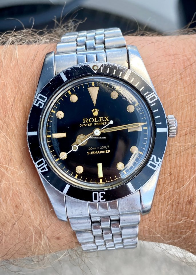 Rolex Submariner (No Date) 6536/1 1957 pre-owned