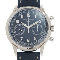Patek Philippe Chronograph White gold 41mm Blue Arabic numerals