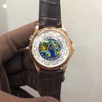 Patek Philippe World Time Pозовое золото 39.5mm Белый