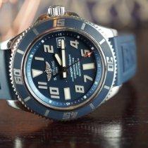 Breitling Superocean 42 Stahl 42mm Blau Arabisch Schweiz, Basel
