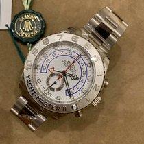 Rolex Yacht-Master II Белое золото 44mm Белый Без цифр