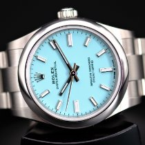 Rolex Oyster Perpetual 31 Steel 31mm Blue No numerals United Kingdom, Whitby- North Yorkshire
