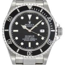 Rolex Sea-Dweller 4000 Acier 40mm Noir Sans chiffres