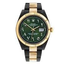 Rolex Datejust II Gold/Steel 41mm Green