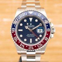 Rolex GMT-Master II White gold 40mm Blue No numerals