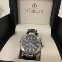 Michel Herbelin Newport Yacht Club new 2017 Automatic Watch with original box and original papers 1666/15