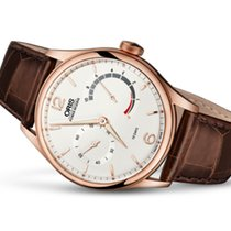 Oris Artelier Rose gold 43mm Silver United States of America, New Jersey, Princeton