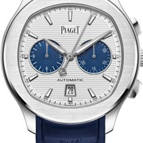 Piaget Polo S Steel 42mm Silver Arabic numerals United States of America, Texas, Houston