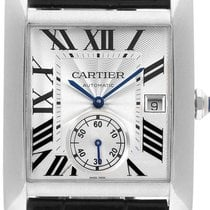 Cartier Tank MC Steel 34.3mm White Roman numerals United States of America, Florida, Hollywood