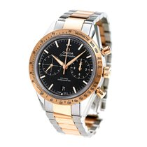 Omega Red gold Automatic Black 50mm new Speedmaster '57