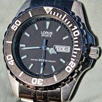 Lorus Aço 49mm Quartzo usado