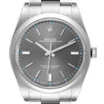 Rolex Oyster Perpetual 39 Steel 39mm Silver