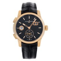 Ulysse Nardin Dual Time new Automatic Watch with original box and original papers 3346-126/92