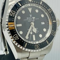 Rolex Sea-Dweller Deepsea Staal 44mm Zwart Geen cijfers Nederland, Amsterdam