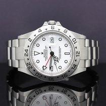 Rolex 16570 Stahl 2003 Explorer II 40mm gebraucht