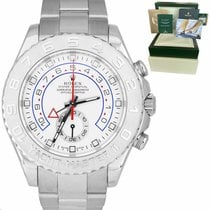 Rolex White gold Yacht-Master II 44mm pre-owned United States of America, New York, Massapequa Park
