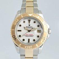 Rolex Yacht-Master Gold/Steel 34mm White No numerals India, Mumbai,