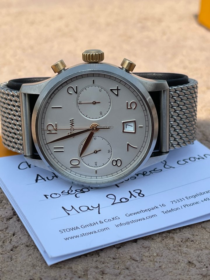 Stowa Chronograph 1938 Bronze 2018 pre-owned