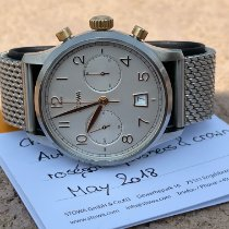 Stowa Gold/Steel 41mm Automatic Chronograph 1938 Bronze pre-owned United States of America, Colorado, Aurora