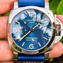 Panerai Luminor 1950 3 Days GMT Automatic Steel 44mm Blue Arabic numerals United States of America, Texas, Plano