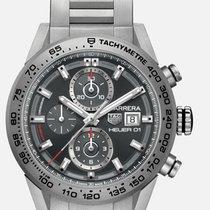 TAG Heuer Carrera Calibre HEUER 01 Titanium 43mm Grey