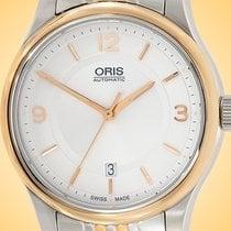 Oris Classic Gold/Steel 42mm Silver United States of America, Illinois, Northfield