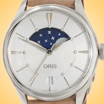 Oris女士手表艺术品日期36mm自动新手表用原装盒