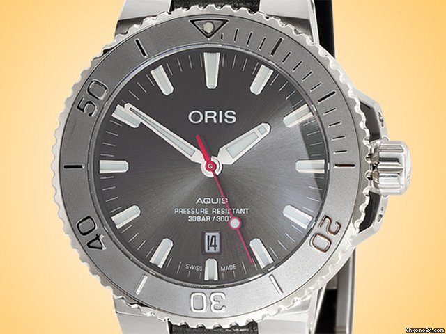 Oris Aquis Date 01 733 7730 4153-07 5 24 11EB new